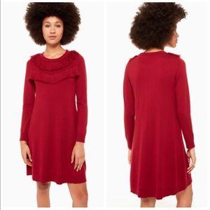 NEW Kate Spade Fringe Sweater Dress